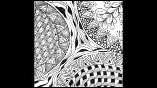Weekly Zentangle® Tangle Video-KNASE-June 8-14, 2015