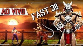 🔴 Desafio da super velocidade: Mortal Kombat Hd Fast 3 será que é possível? Ultra Hard