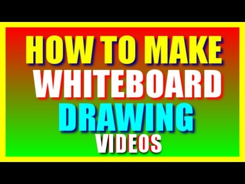How To Make Whiteboard Drawing Video Animation   Whiteboard Drawing Software