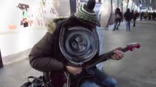 "Marcello Calabrese - street guitarist plays ""Purple Rain"" live in Milan"