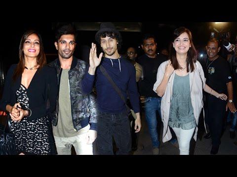 Bollywood Celebs Flying For IIFA Awards 2016 Spain | Bipasha Basu,Tiger Shroff,Dia Mirza