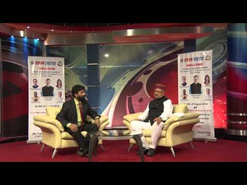 Exclusive Interview of Dr. Raman Singh, CM, Chhattisgarh by Onkareshwar Pandey