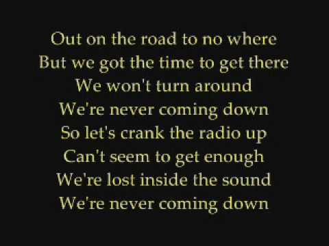 Faber Drive - Never Coming Down