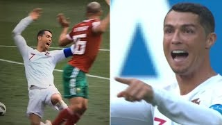 Breaking News-Cristiano Ronaldo Signals For VAR Check After Dive Against Morocco