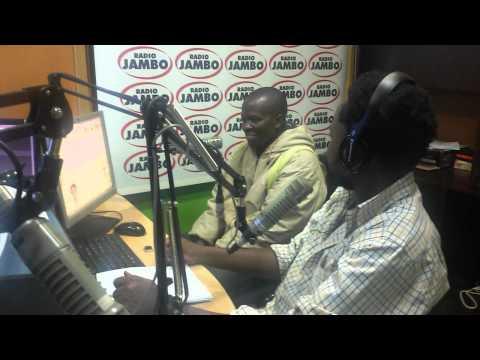 Radio Jambo Sonko Wa Masonko Grand Prize Winner Charles Juma In Studio With Mbusii & Lion