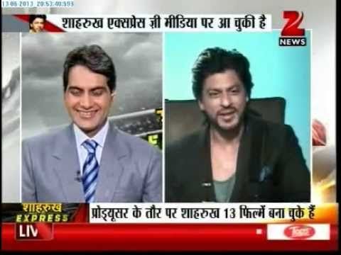 Zee News : Shahrukh Khan's Chennai Express LIVE & EXCLUSIVE
