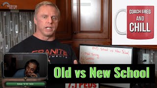 Coach Greg and Chill : Old School vs New School Mountaindog / John Meadows