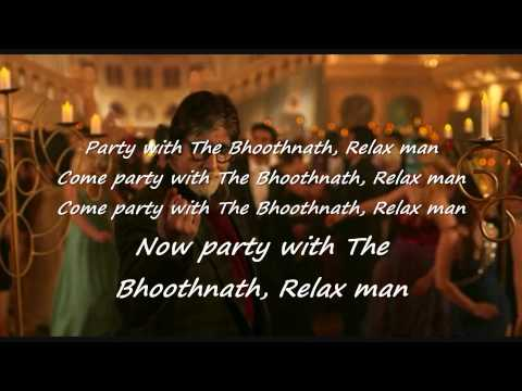 Party With Boothnath Lyrics | yo yo Honey Singh | Boothnath...