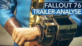 Fallout 76 - Prequel als Online-Ableger? - (Trailer-Analyse)