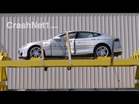 2013 Tesla Model S | Краш-тест
