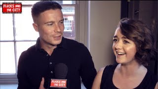 Game of Thrones Maisie Williams & Joe Dempsie Interview - Arya Stark & Gendry