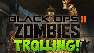 Little Kid Rages So Much in BO2 Zombies! - Call of Duty Black Ops 2 Zombies Trolling!