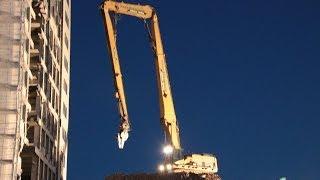 Caterpillar 385 HRD Freimuth Abbruch Bagger excavator Longfront demolishing Sachsenburg