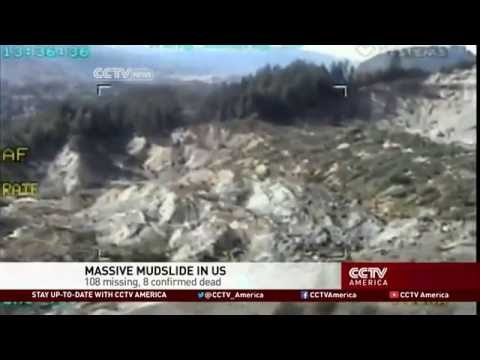 14 Dead, 176 Missing in Major U.S. Mudslide
