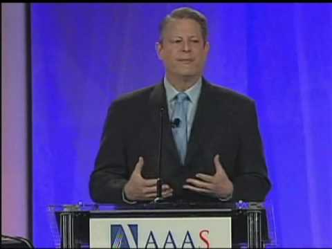 Al Gore at the 2009 AAAS Annual Meeting (Pt 2/6)
