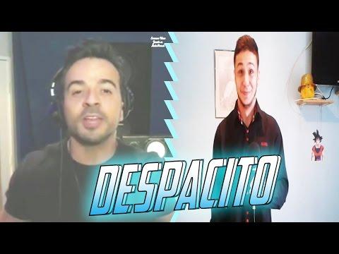 CANTANDO DESPACITO CON LUIS FONSI Y CHANTAJE CON SHAKIRA   RASHERITO