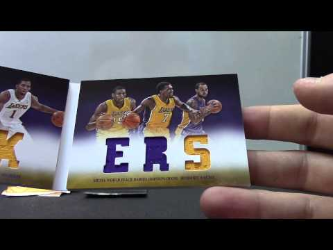 Sammy Shizzle's 2012/13 Preferred Basketball Box Break