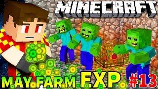 Minecraft Sinh Tồn #13 | XÂY DỰNG MÁY FARM KINH NGHIỆM (XP FARM) | KiA Phạm (w/ Vamy Trần)