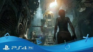 Rise of the Tomb Raider   PS4 Pro Gameplay Trailer   PS4 Pro