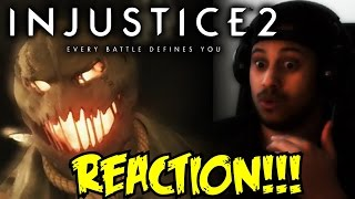 THE HOMIE SCARECROW! Injustice 2 - Introducing Scarecrow! REACTION!!!