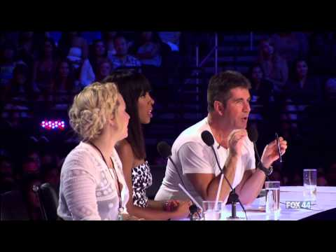 Filipino 16 Year Old Ellona Santigao  @ The X Factor USA 2013 Auditions