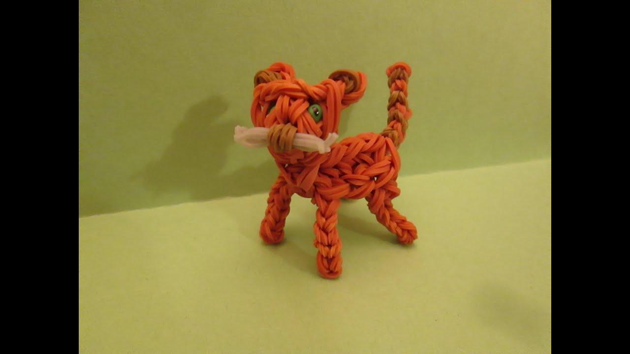 Как сделать игрушку кота из резинок
