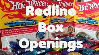 Redline Hot Wheels Box Openings – Video No.170 – November 20th, 2016