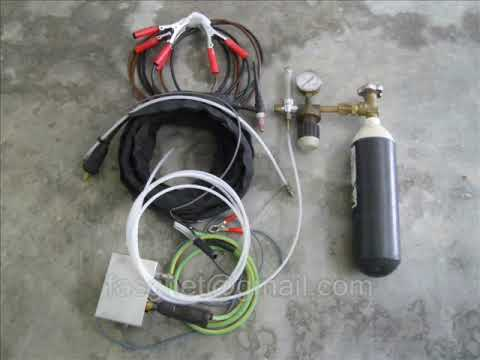 TIG Welder whit a 12V Car Battery