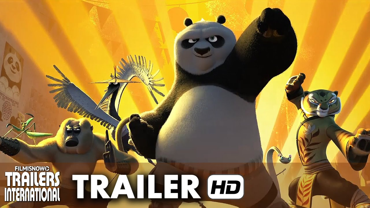 Kung Fu Panda 3 - Terceiro Trailer Oficial Dublado (HD)