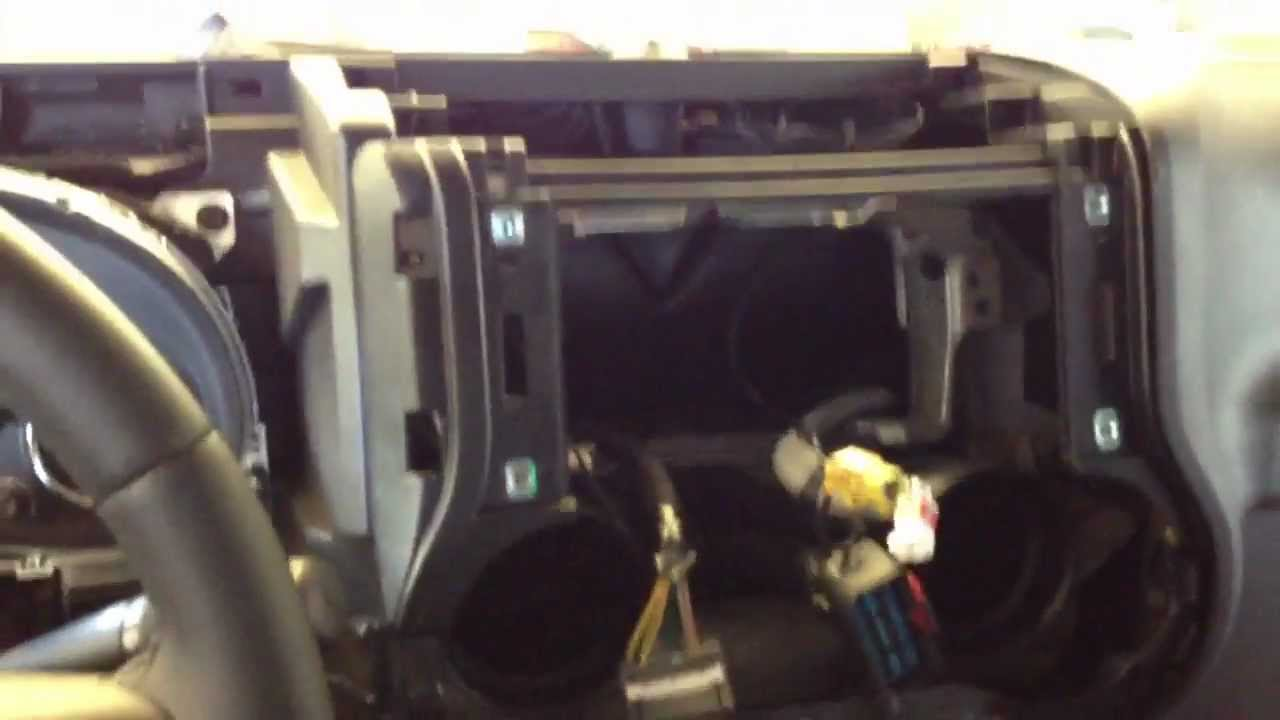 2011 JEEP WRANGLER How To Remove Radio Dash - YouTube