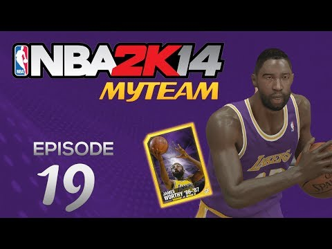 NBA 2K14 My Team ALL LAKER SQUAD FACECAM!  Ep.19