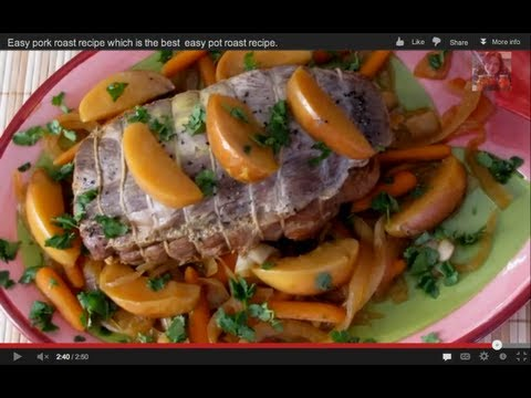 Easy pork roast recipes