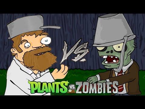 Plants vs Zombies - How does Crazy Dave survive?