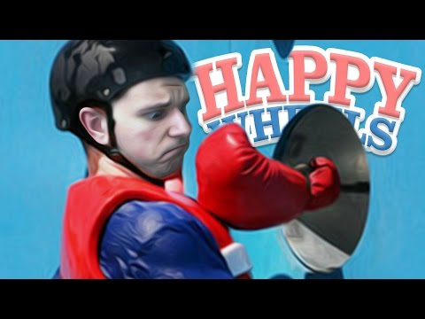 I'M IN TOTAL WIPEOUT! | Happy Wheels #5