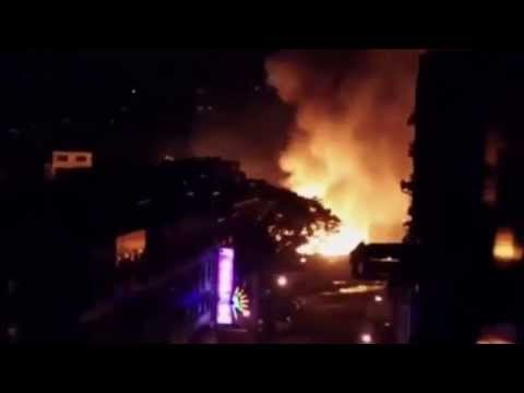 Raw Video Deadly Taiwan Kaohsiung Gas Leak Explosion Destroyed Entire Street