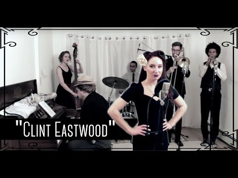 """""""Clint Eastwood"""" (Gorillaz) - 1940s/James Bond Cover by Robyn Adele Anderson"""