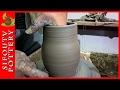 Pottery for Beginners - How to Make a Vase ep 03