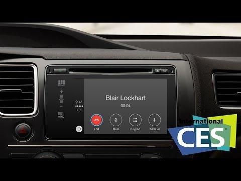 Apple CarPlay (CES 2015)