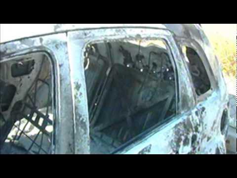 12 NOTICIAS localizan totalmente quemado automóvil Ford Fiesta robado con violencia 24 10 14