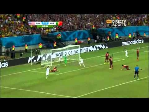 Estados Unidos vs Portugal 2 2 brasil 2014 directv sports