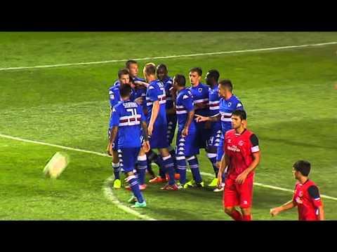 Trofeo Carranza: Sevilla 0 - Sampdoria 2 (15-08-14)