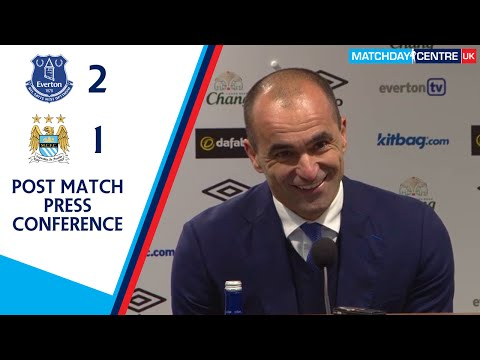 Everton 2-1 Manchester City : Roberto Martinez Press Conference
