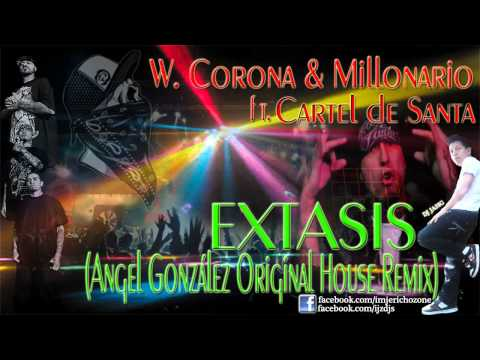 Extasis (angel González Original House Remix)-cartel De Santa video