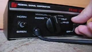 Federal Signal Corporation - Model G Hand Signal