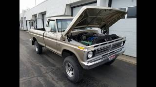 Burke 39 S 1976 F 250 Highboy 300 6 Cyl 750 000 Miles And Restored Pictoral