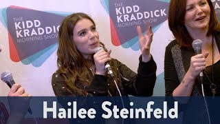 Backstage with Hailee Steinfeld at Jingle Ball 2016! | KiddNation