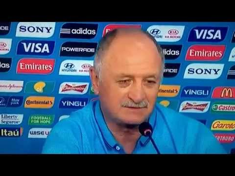 Brasil x México - Coletiva com Luiz Felipe Scolari - Copa 2014