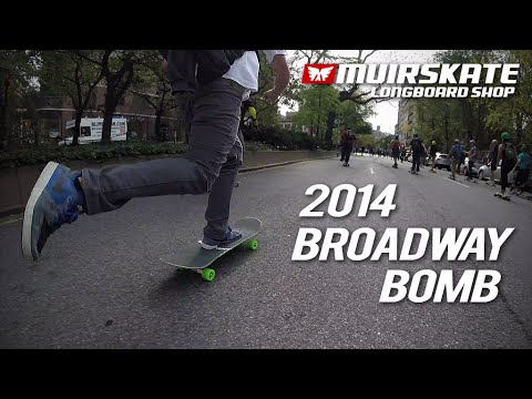 Broadway Bomb 2014 | MuirSkate Longboard Shop