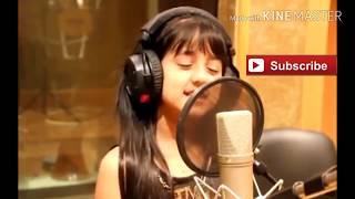 Gadis arab imut , nyanyi lagu هلابريحةهلي keren ......