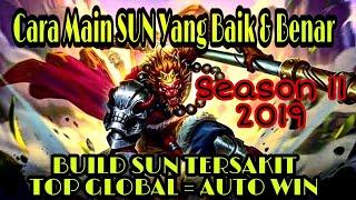 build SUN tersakit . SUN TERSAKIT AUTO WIN . Cara Main Hero SUN MOBILE LEGENDS Yang Baik Dan Benar